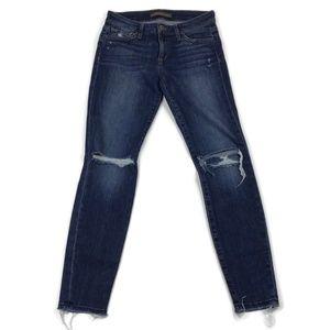 Joe's Jeans Distressed Skinny Ankle Size 27